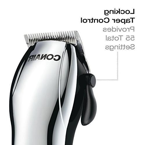 Conair Cord/Cordless Rechargeable 22-piece Haircut Hair Cutting Kit;