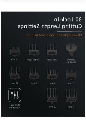 Cordless/Corded Hair Clippers Men Design Professional