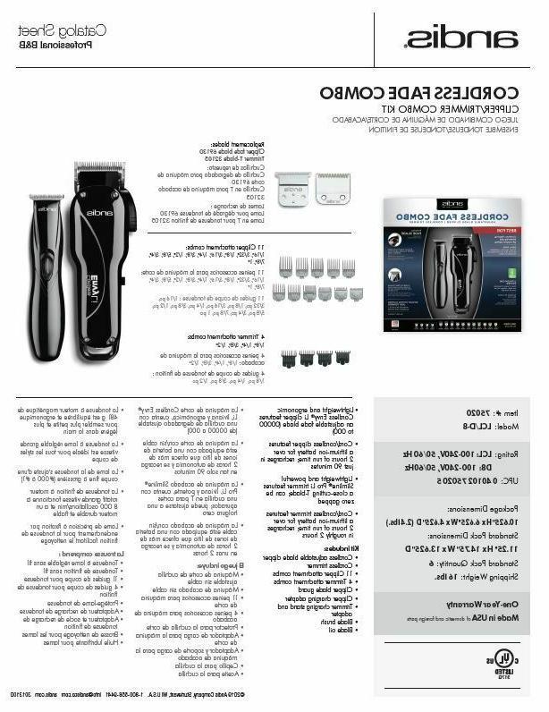 Andis Envy Clipper & Pro Trimmer #75020