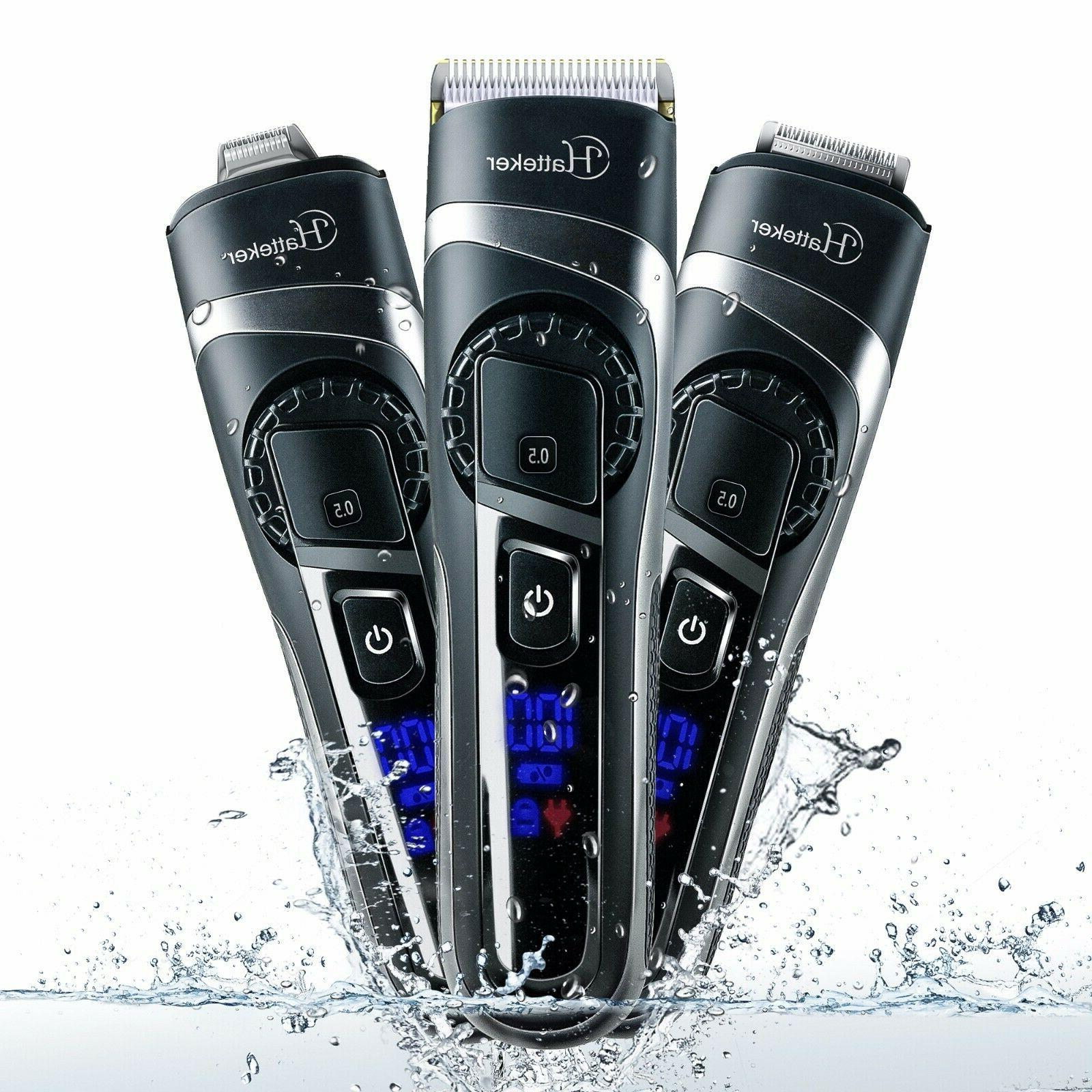 cordless hair clippers beard trimmer professional waterproof