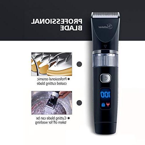 Hatteker Trimmer Pro Hair Trimmer Kit Men Rechargeable