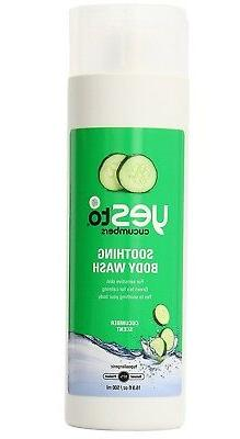 Yes To Cucumber Soothing Body Wash, Cucumber Scent, 16.9 Fl