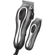 Wahl Deluxe Chrome Pro Complete Men's Haircut Kit With Finis