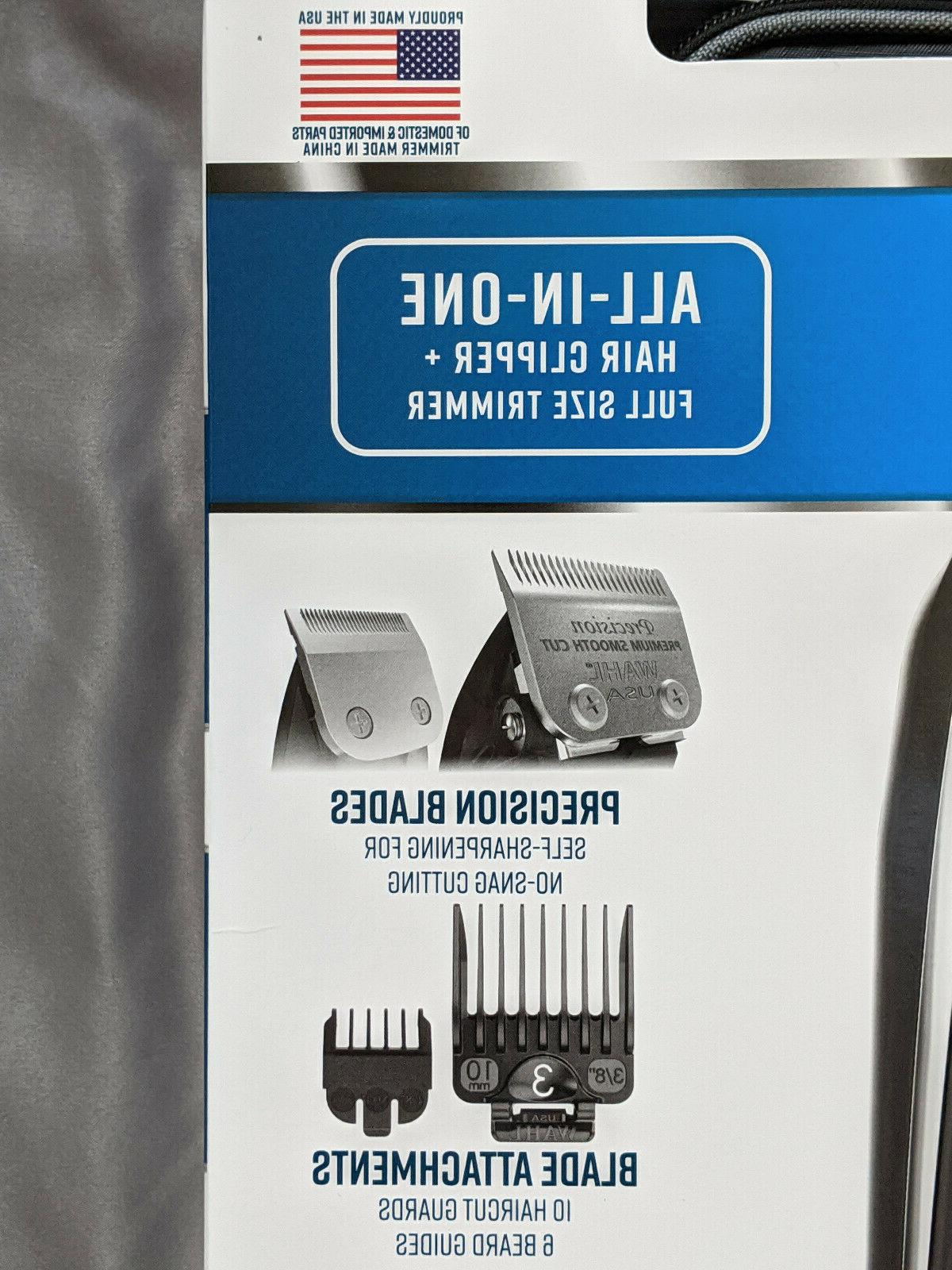 Wahl Deluxe Complete Cutting Kit 29 Piece Clipper with Trimmer