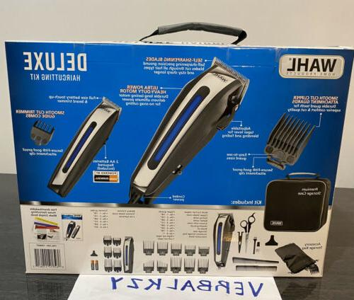 Wahl Haircutting Kit Professional Clippers Men