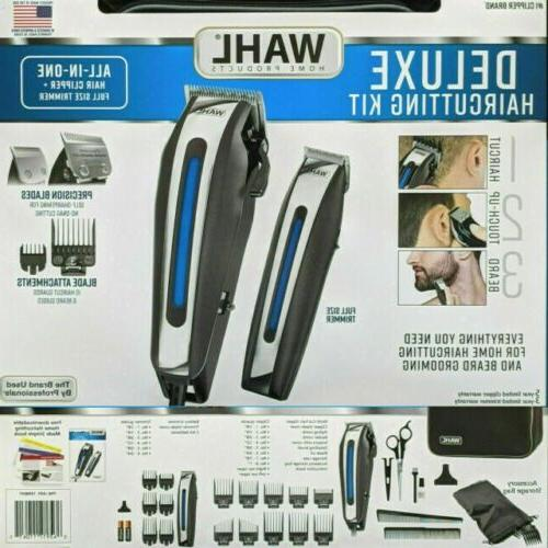 Wahl Deluxe Professional Clippers Men Tool Machine Hair