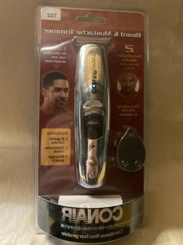 Conair Deluxe Rechargeable Ethnic Detailing, T-blade and Reg