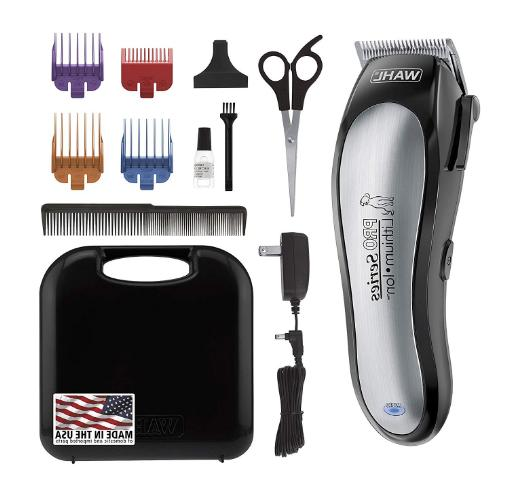 WAHL Series Rechargeable Dog Grooming Small/Large Dogs, Thick Professionals.