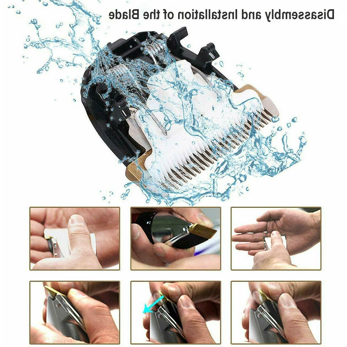 Electric Hair Clippers Trimmer Cordless Barber