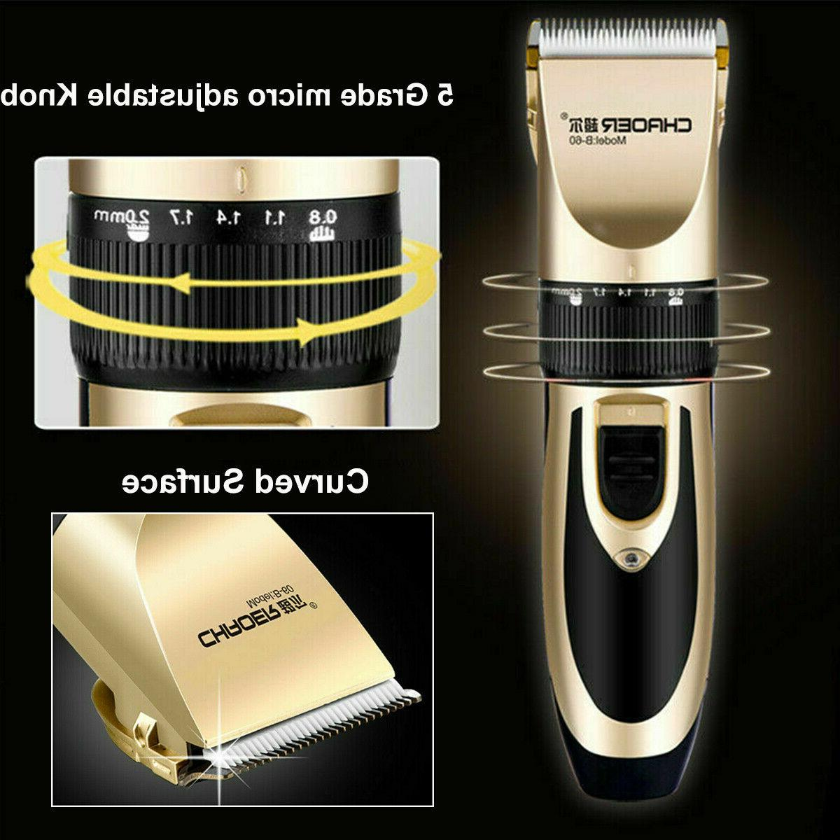 Electric Hair Clippers Trimmer Barber Razor