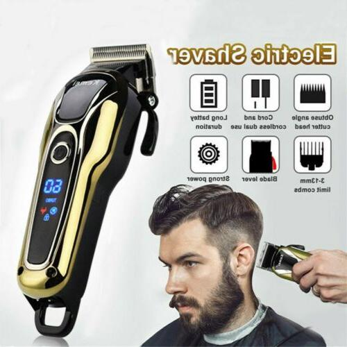 USA Electric Hair Cutting Trimmer Clipper Shaver Barber Hair