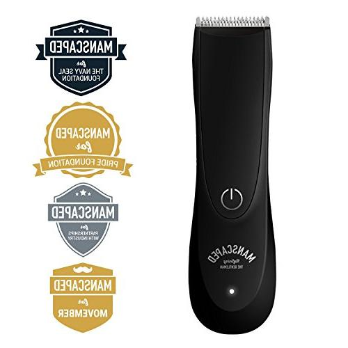 Best Electric Groin Hair 2.0 by Ceramic Wet/Dry Battery, Ultimate Male Razor