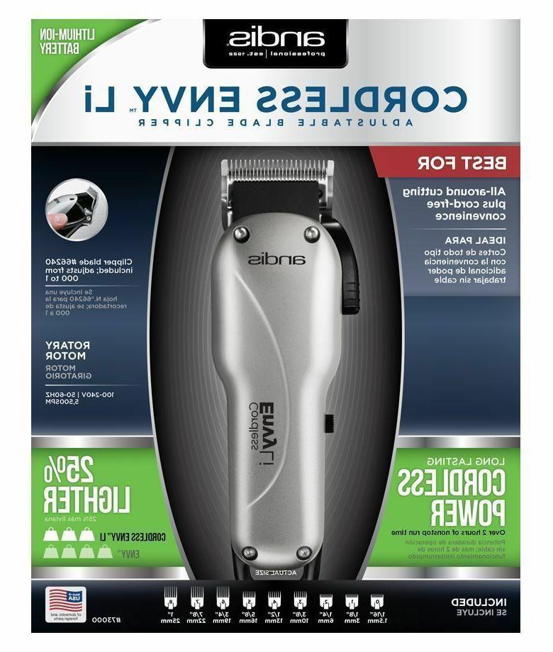 Andis Adjustable Blade Hair w/ #73000