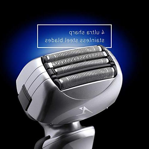 Panasonic Arc4 Electric 4-Blade with Wet/Dry Shaver