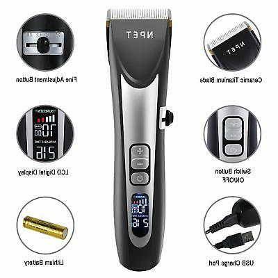 Hair Clippers for Men USB Trimmer 5 Speed Blade