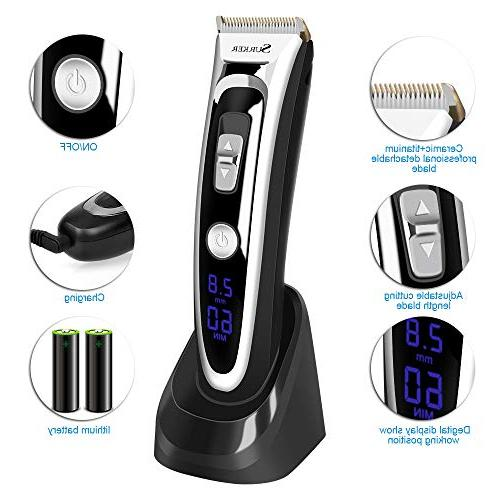 Professional Hair Clippers Set for Aiskki Hair Trimmer, Cutting Adjustment, and