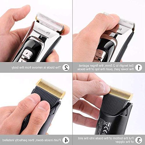 Professional Hair for Cordless Hair Trimmer, Cutting LED