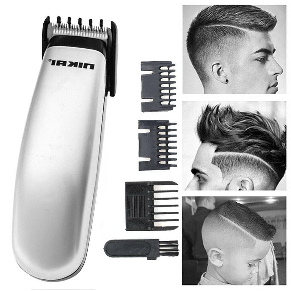 NIKAI Electric Cordless Men's Hair Clipper Beard Trimmer Sha