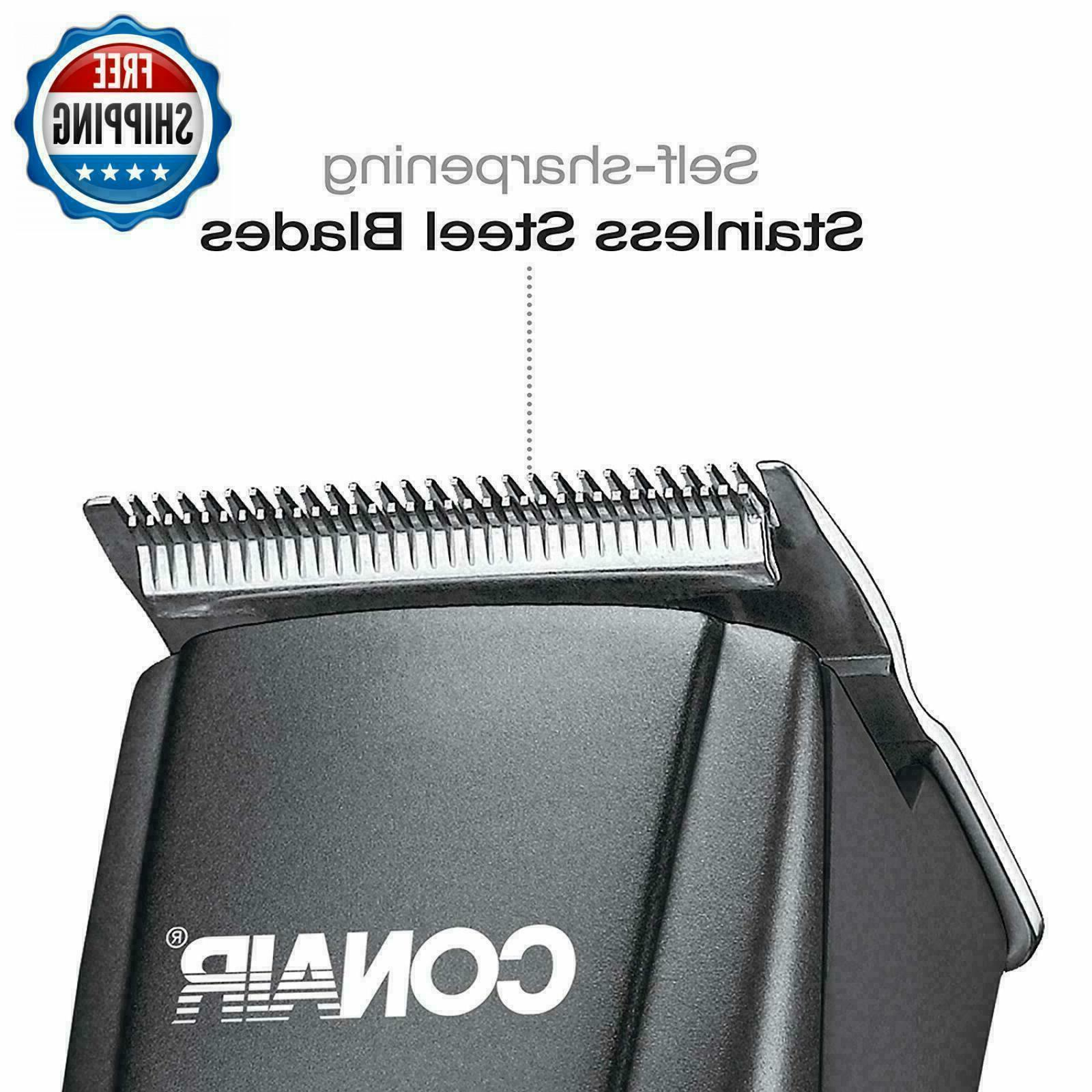 Hair Cutting Clippers Grooming Set