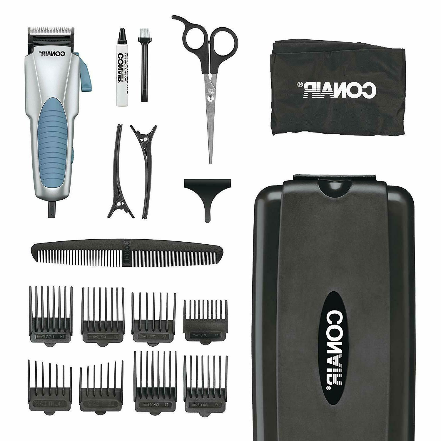 Hair Cutting Kit Clippers Tools Grooming