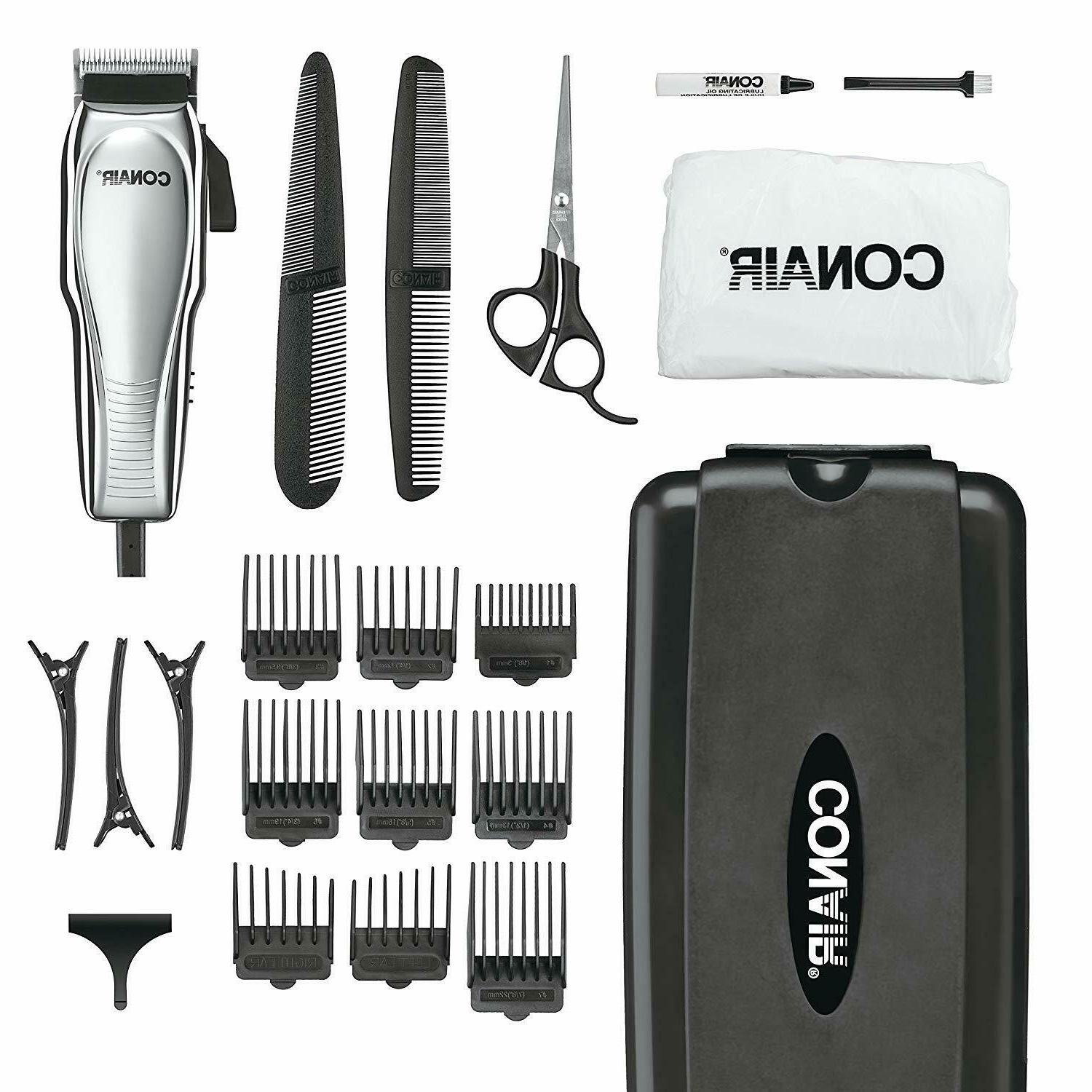 Hair Cutting Kit Clippers Trimmer