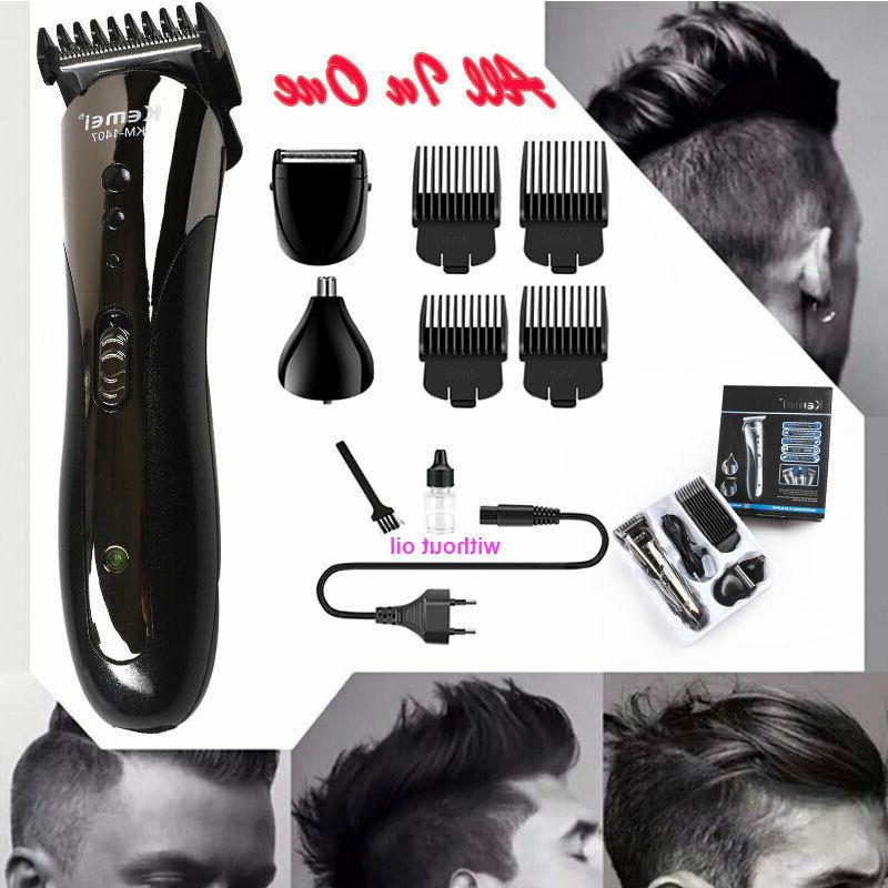 hair cutting kit machine clippers trimmer pro