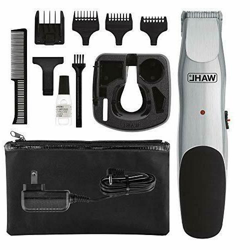 WAHL Groomsman Corded Cordless Beard Trimmer for Men Recharg