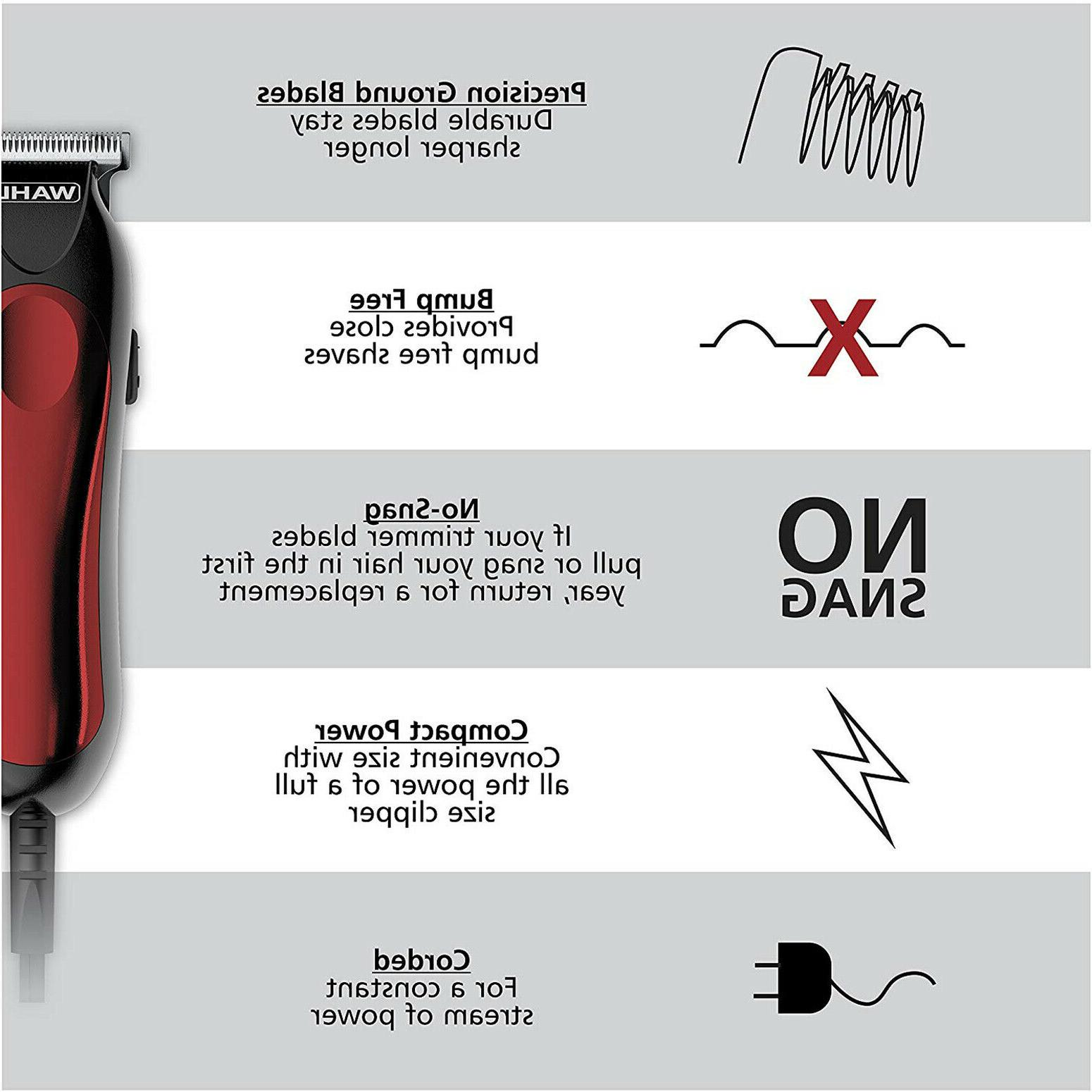 Hair Machine Professional Men Corded Shaver