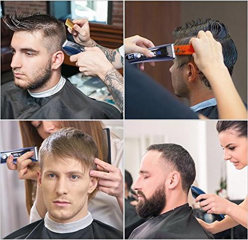 HATTEKER Trimmer Hair Beard Cutting Kit Rechargeable
