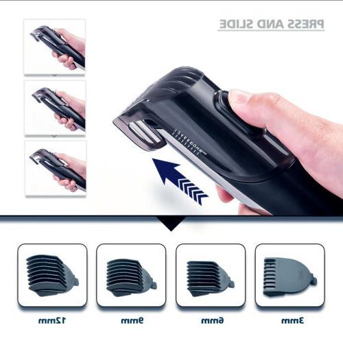 Hatteker Rechargeable Electric Hair Clipper Shaver Razor Trimmer Kit