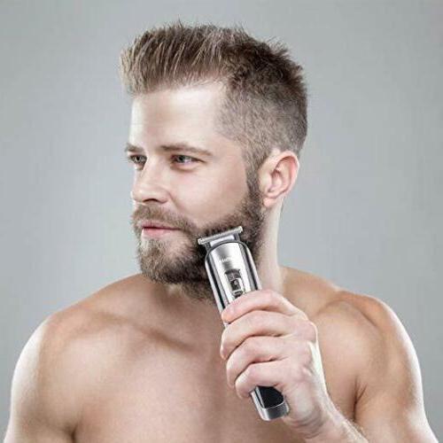 Hatteker 5 1 Men Grooming Kit Trimmer Haircut