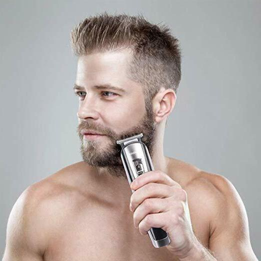 Men Grooming Trimmer Clipper Cordless Haircut Set