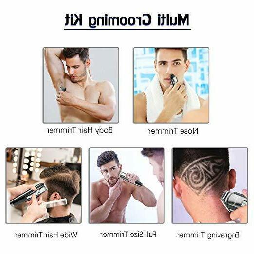 Hatteker in 1 Men Kit Trimmer Hair Haircut