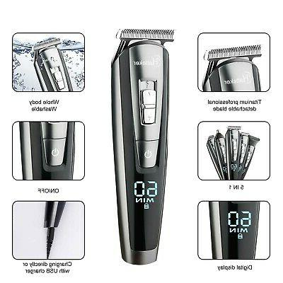 HATTEKER Beard Trimmer For