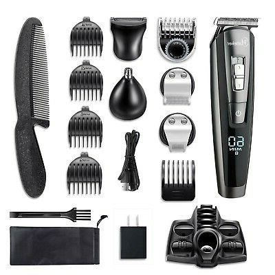 HATTEKER Trimmer For Cordless Trimmer Hair
