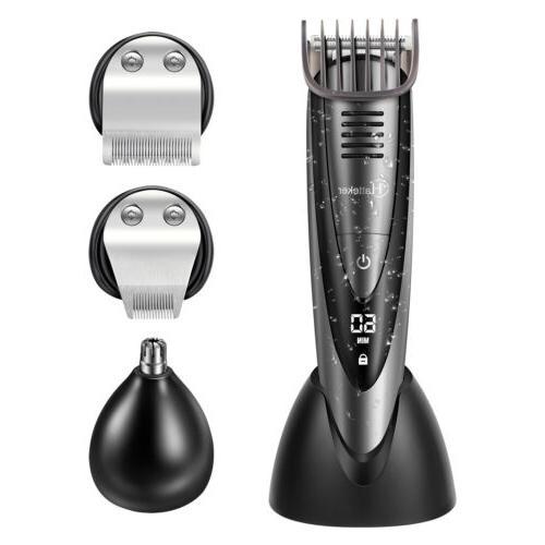 Hatteker Hair Beard Grooming Cordless Men