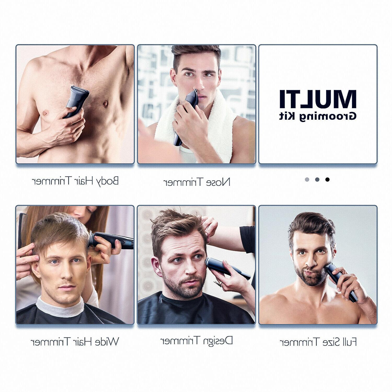 Hatteker Beard Trimmer Body Mustache Trimmer Nose Grooming Kit