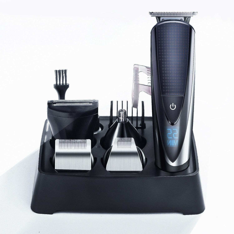 Hatteker Rechargeable Men's Hair Razor Kit