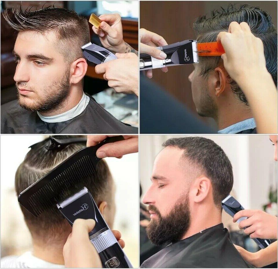 HATTEKER Hair Clippers Beard Trimmer Men's Cordless Haircut