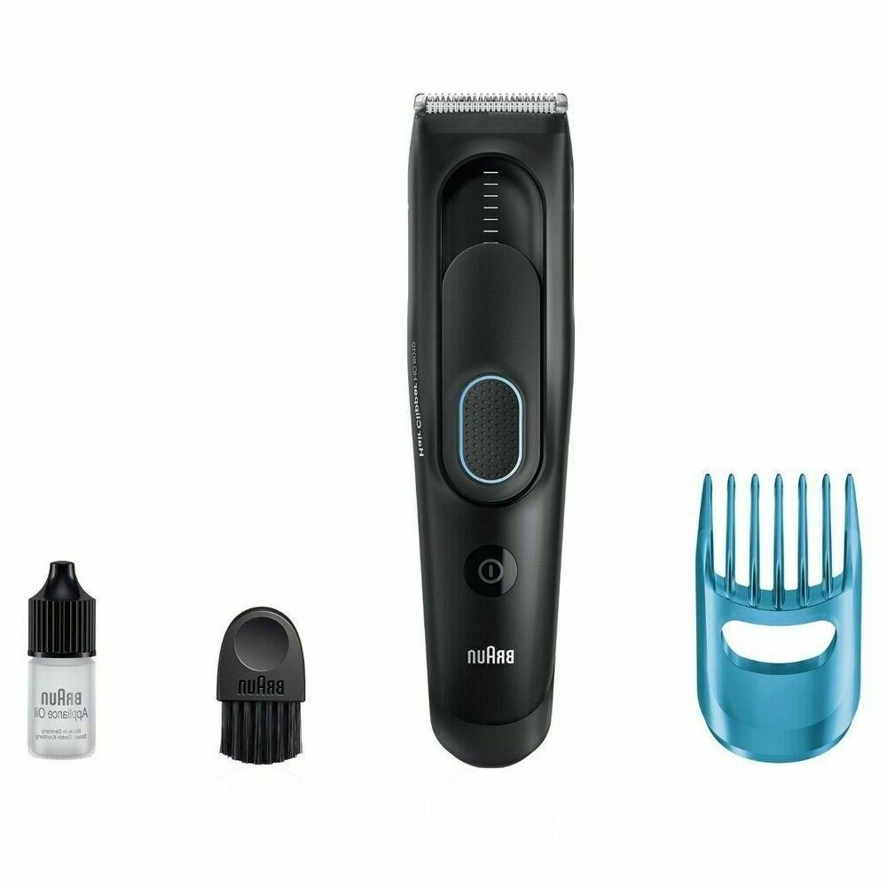 @Braun HC5010 Mens Washable Cordless Beard Trimmer