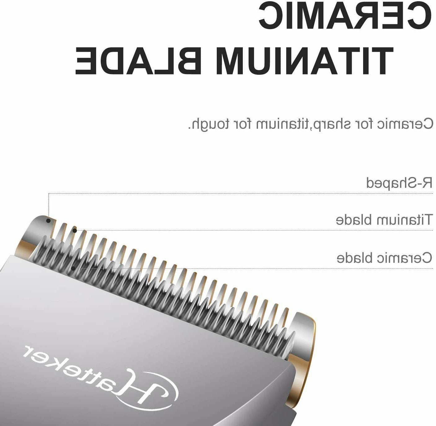 Mens Beard Trimmer Cordless Detail 3 Grooming USB