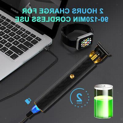 Mens Clipper USB Trendy Trimmer
