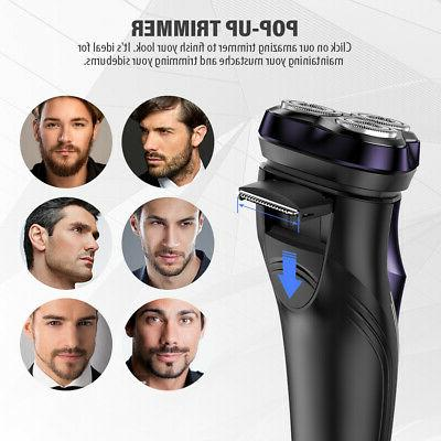 FLYCO FS372US Electric Trimmer and Shaver For Men with 3D Fl