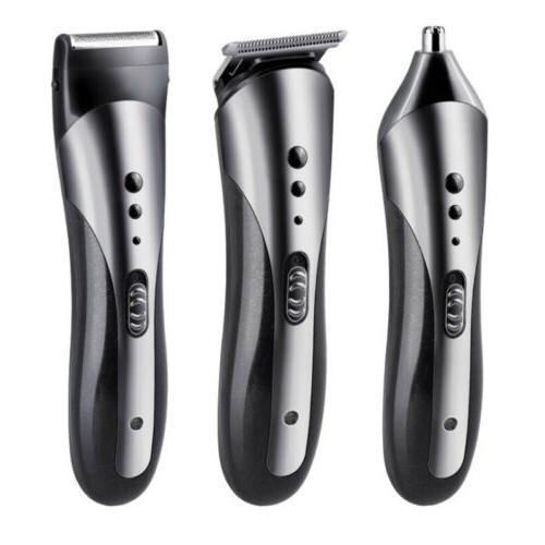 KEMEI Hair Cut Clipper Shaver Machine Razor Set