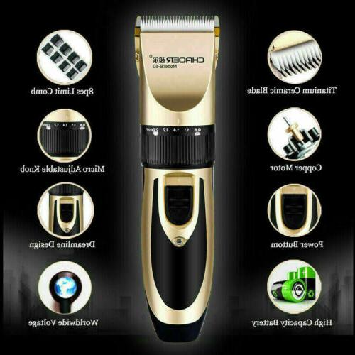 Professional Men Trimmers Cordless Haircut