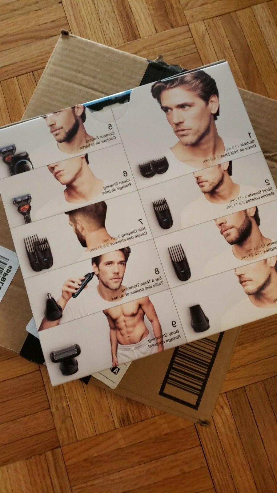 Braun 9-in-one men's styling
