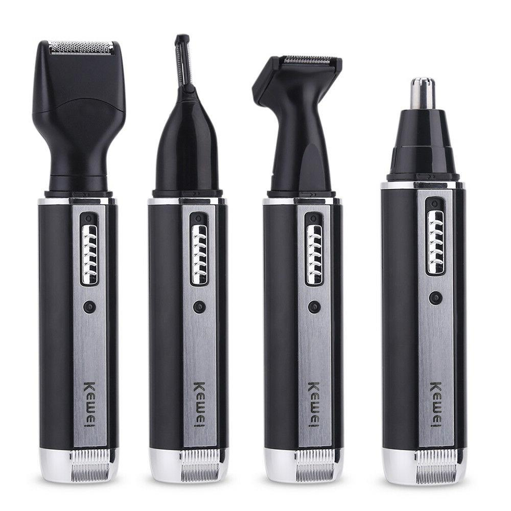 Rechargeable Beard Razor Electric Shaver Men Nose Hair Trimmer