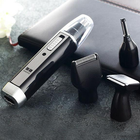 Rechargeable Beard Shaver Cordless Ear Nose