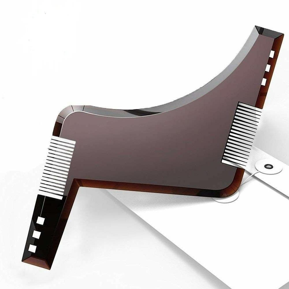new beard styling grooming trimmer template shaping