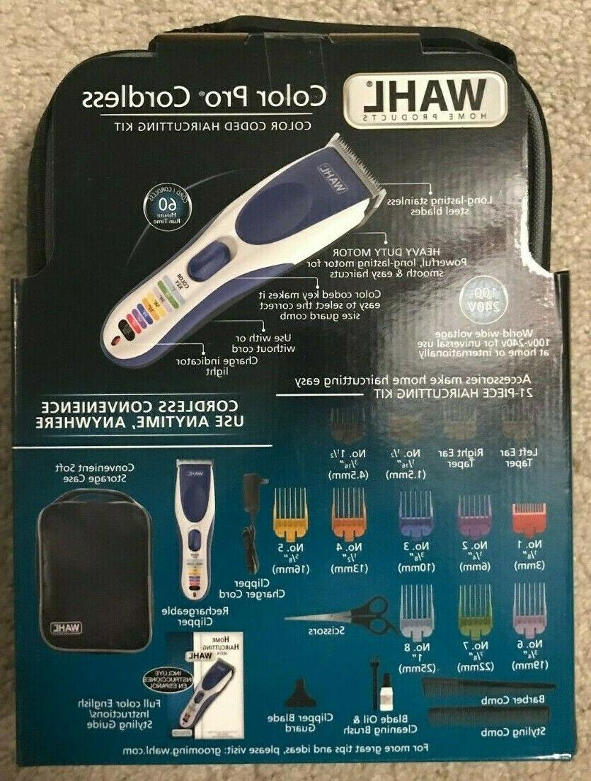 NEW IN WAHL COLOR PRO HAIR KIT 9649